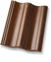 ZANDA PROTEKTOR 2,0, Concrete roof tile, (Brown) Concrete roof tiles
