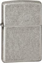 Žiebtuvėlis Zippo Antique Silver Plate Armor petrol lighter ™ 27003