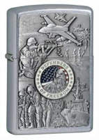 Žiebtuvėlis ZIPPO Z24457, Joined Forces, street chrome