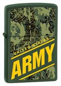 Žiebtuvėlis ZIPPO Z24828, Army United States Raktų pakabukai, žiebtuvėliai