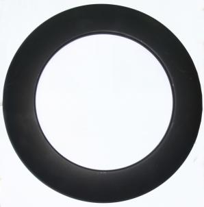 Žiedas dekoratyvinis juodas 200-CZ (ML) Kaminų komplektuojančios dalys ir priedai