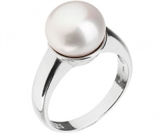 Žiedas Evolution Group Silver pearl ring 25001.1