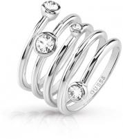Žiedas Guess Luxury spiral ring UBR84055