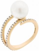 Žiedas Michael Kors Ladies´ ring with bead and crystals MKJ6313710
