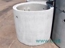 Žiedas šulinių Ž 7-2.5-0,7 Šulinių žiedai betoniniai/ gelžbetoniniai, dangčiai