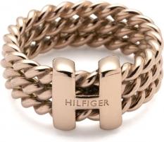 Tommy Hilfiger Ocelový prsten v barvě růžového zlata TH2700482 (Dydis: 56 mm) Gredzeni