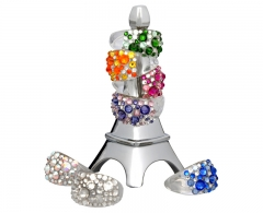 Žiedas Troli  Bubble Crystal (Dydis: 53 mm) Rings