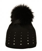 Žieminė kepurė CAPU 1672-F Juoda Kepurės