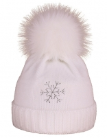 Žieminė kepurė CAPU 670-B Balta Kepurės