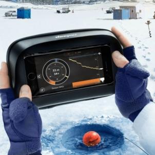Žieminis dėklas telefonui ir nešiojamam įkrovikliui DEEPER L dydis Žvejybinės dėžės, krepšiai