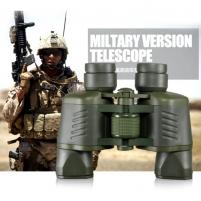 Žiūronai BERKUT 50x50 HD Night Vision Army Green su koordinatėmis Binoklis