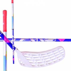 Žolės riedulio lazda Timber Round 2.9 navy/silver/red C4 size 92R Zāles hokeja nūjas