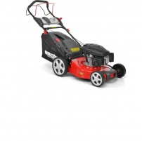 petrol mower, self-propelled HECHT 546 SX Trimmer, lawnmowers