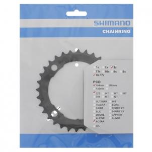 Žvaigždžių blokas Chainring 32T Acera FC-M361 Black Shimano bicycle parts