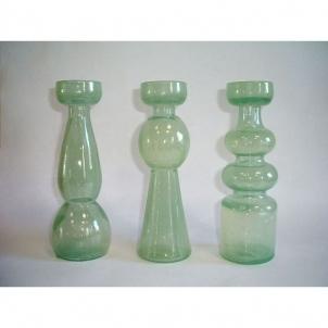 Žvakidė stikl. 20 cm figūrinė 240057