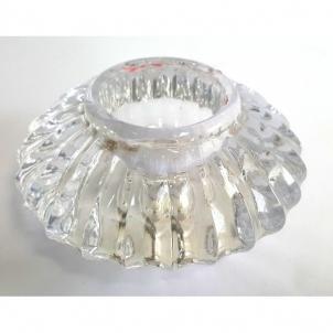 Žvakidė stikl. 6cm IR231 IA1852