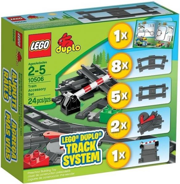 10506 Lego Duplo - Additional elements of the railway Paveikslėlis 1 iš 1 30005400729