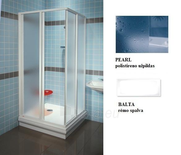 14V7010211 SRV2-90 S BALTAS/PEARL, dušo durys Paveikslėlis 1 iš 1 270730001154