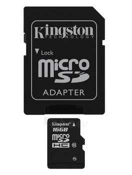 16GB MICROSDHC CLASS 10 FLASH CARD Paveikslėlis 1 iš 1 250255120335