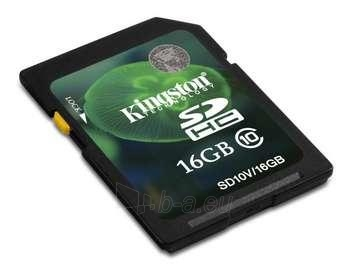 16GB SDHC CLASS 10 FLASH CARD. Paveikslėlis 1 iš 1 250255120338