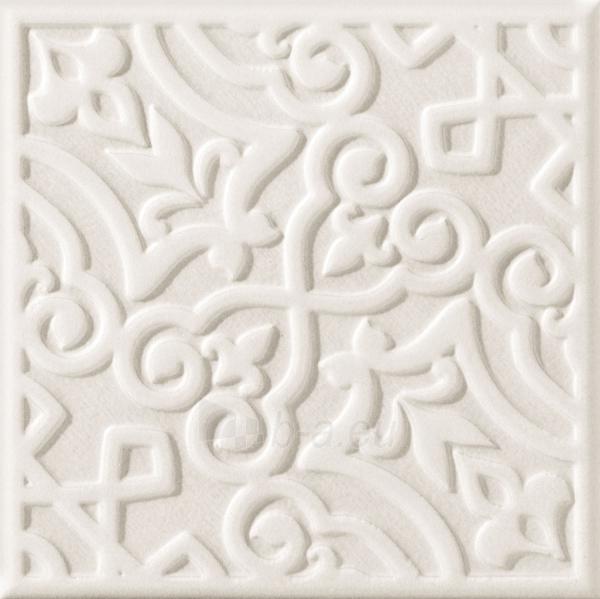 20*20 D- MAJOLIKA GREY D STR, dekoruota plytelė Paveikslėlis 1 iš 1 310820101871