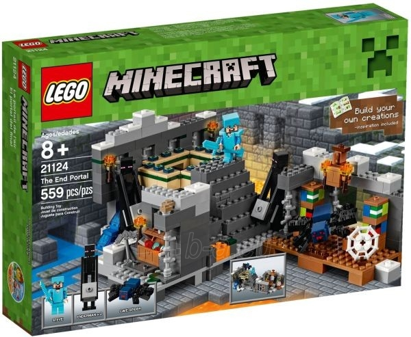21124 LEGO Minecraft nuo 8 metų NEW 2016! Paveikslėlis 1 iš 1 310820027473