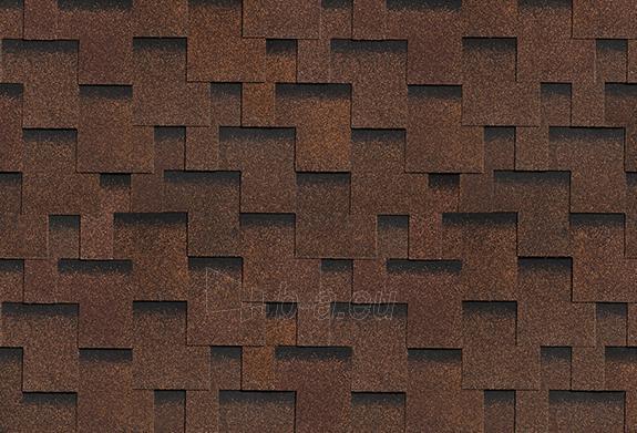 Bituminės lanksčiosios čerpės AKORDAS DŽAIVAS, ruda Paveikslėlis 1 iš 1 237140000017