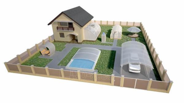 Polikarbonato plokštė 6x2100x6000 mm (12.6 m²) bronzinė, pjaustomas ilgis 2-3-4-6m, plotis 2.1-1.05m Paveikslėlis 2 iš 2 237160000070