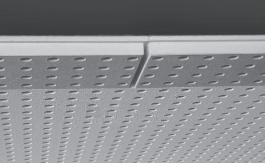 Akustinė plokštė Knauf Cleaneo FF 10/23 R (juoda) 1998 x 1188 x 12,5 mm (2,373624 kv. m.) Paveikslėlis 1 iš 1 237350000060