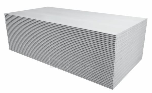 Plokštė Knauf WHITE GKB 12.5mm 1200 x 3000 (3,6 kv.m.)