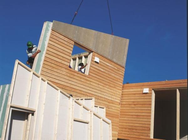 Knauf wind-proof boardl 9.5mm 1200x2700 water proof (3,24 kv. m) Paveikslėlis 2 iš 2 237350000079