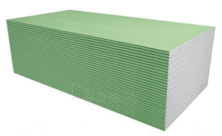 Plokštė Knauf GREEN GKB 12.5mm 1200 x 3000 mm (3,6 kv. m) Paveikslėlis 1 iš 1 237350000083
