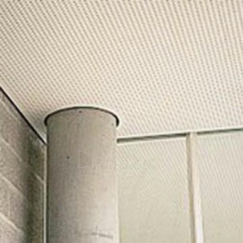 Akustinė plokštė Knauf Cleaneo 6/18 R (balta) 1998 x 1188 x 12,5mm (2,373624 kv. m)