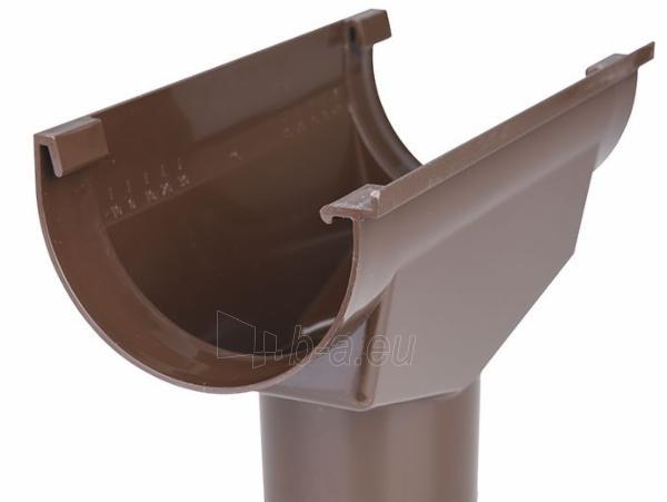 PLASTMO Latako nuolaja kompensacinė (Nr.11) 120 mm (ruda) Paveikslėlis 2 iš 2 237520400027