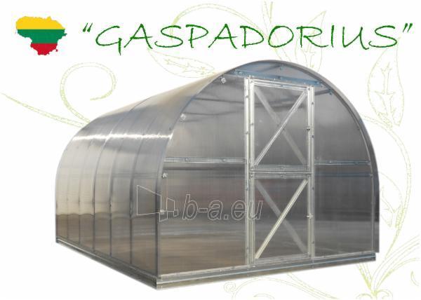 Šiltnamis Gaspadorius (11,48m2) 4000x2870x2250 su 4mm polikarbonato danga Paveikslėlis 1 iš 7 238700000100