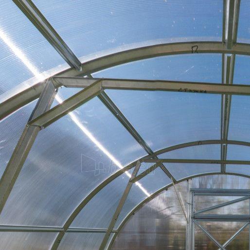 Šiltnamis Trioška (24m2) 8000x3000 su 4mm polikarbonato danga Paveikslėlis 4 iš 4 238700000152