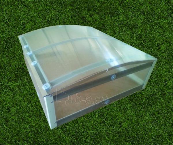 Daigynas Klasika (0,93 m2) su 4mm polikarbonato danga Paveikslėlis 2 iš 2 238700000207