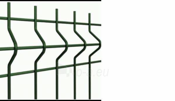 Tvoros segmentas Gardenfence 3/3,7x50x200x1830x2500 žalias Paveikslėlis 1 iš 2 239360000091