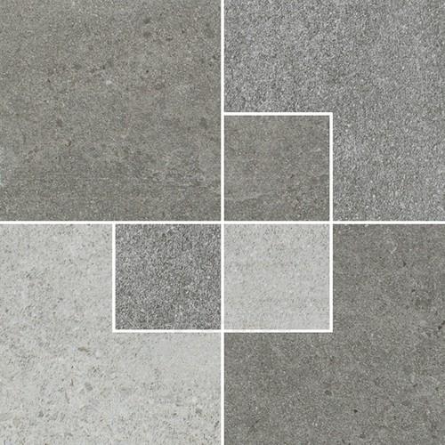 24.7*24.7 OPTIMAL ANTRACITE INS MAT, akmens masės dekoruota plytelė Paveikslėlis 1 iš 1 310820029652