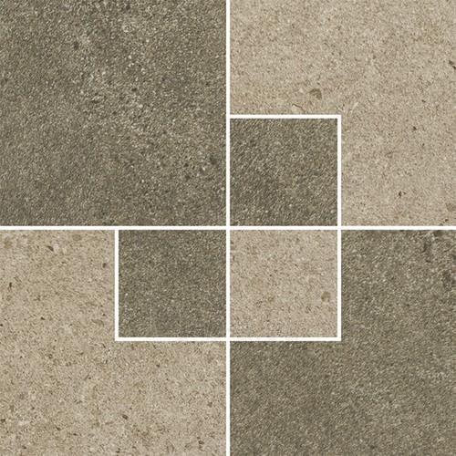 24.7*24.7 OPTIMAL BROWN INS MAT, akmens masės dekoruota plytelė Paveikslėlis 1 iš 1 310820029649