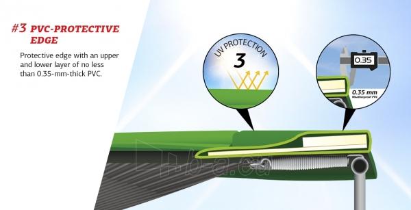 240cm Batutas su apsauginiu tinklu BERG Talent Comfort (iki 250kg) Paveikslėlis 7 iš 9 310820176334