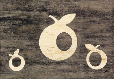 25*36 D-TOSCANA BRAZ APPLE, dekoruota plytelė Paveikslėlis 1 iš 1 237751001926