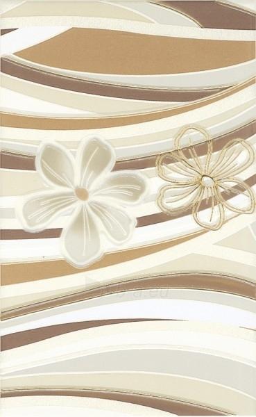 25*40 CARIOCA BEIGE A INS, dekoruota plytelė Paveikslėlis 1 iš 1 237751001956