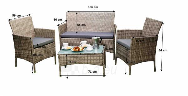 Lauko baldų komplektas DRITTO Paveikslėlis 4 iš 8 250402300060