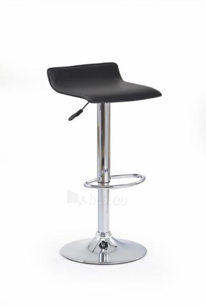 Baro kėdė H-1 juoda Paveikslėlis 1 iš 2 250406200022
