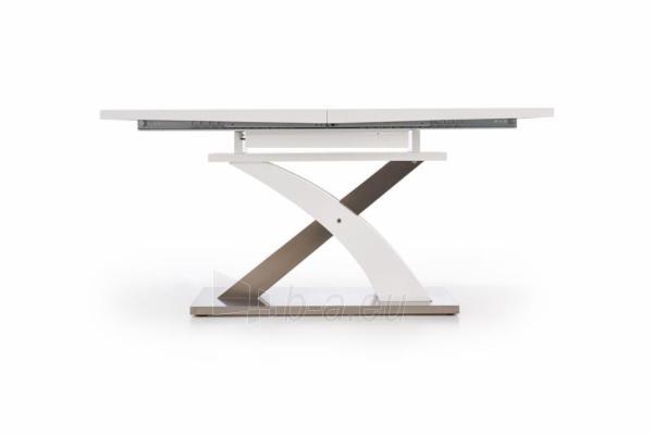 Valgomojo stalas Sandor (baltas) išskleidžiamas Paveikslėlis 8 iš 10 250422000396