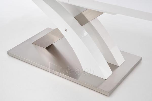 Valgomojo stalas Sandor (baltas) išskleidžiamas Paveikslėlis 7 iš 10 250422000396