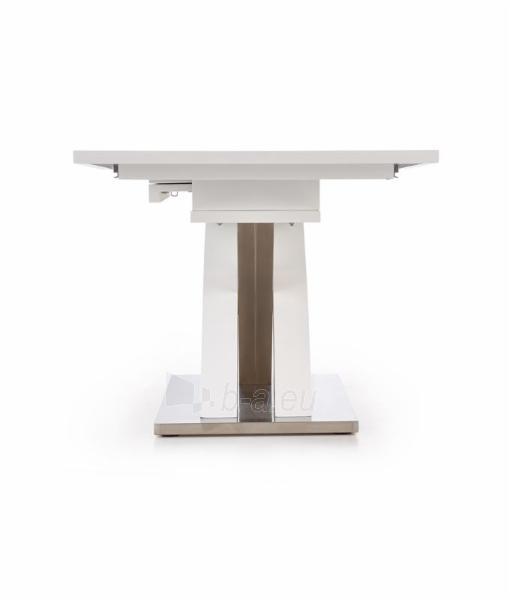 Valgomojo stalas Sandor (baltas) išskleidžiamas Paveikslėlis 4 iš 10 250422000396