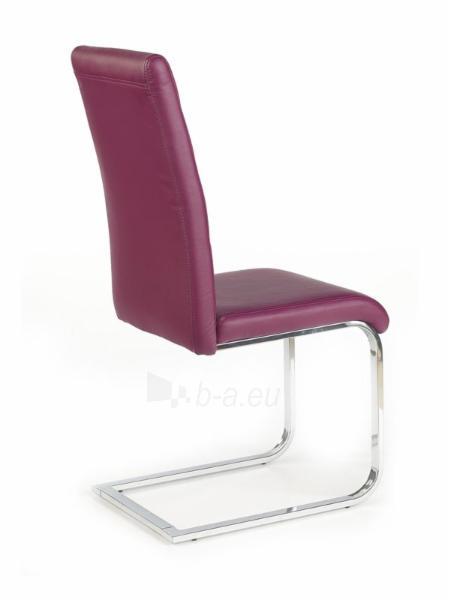Valgomojo Kėdė K85 violetinė Paveikslėlis 2 iš 2 250423000081