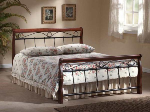 Miegamojo lova Venecja 120 antikinė vyšnia Paveikslėlis 1 iš 2 250432000371